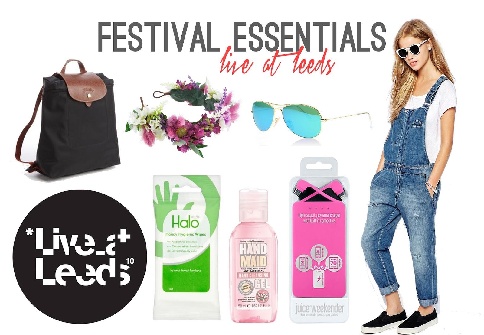 My Metropolitan Festival Essentials - Rachel Nicole UK Blogger