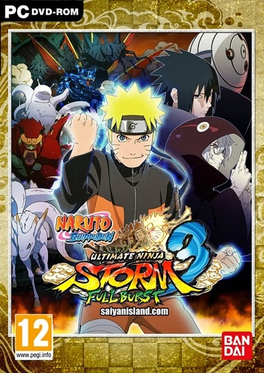 Naruto Shippuden Ultimate Ninja STORM 3 Full Burst PC Español