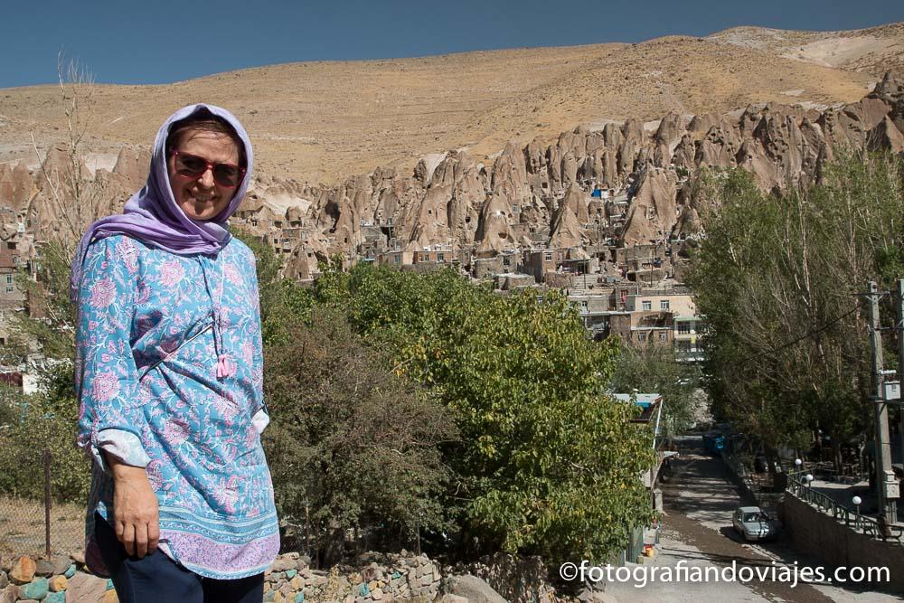 Kandovan en Irán