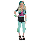 Monster High Party City Lagoona Blue Outfit Child Costume