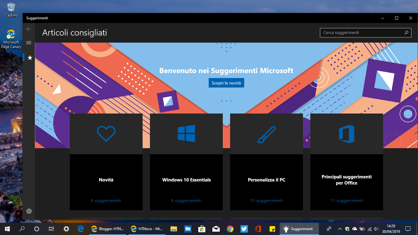 Suggerimenti-microsoft-windows-10-may-2019-update
