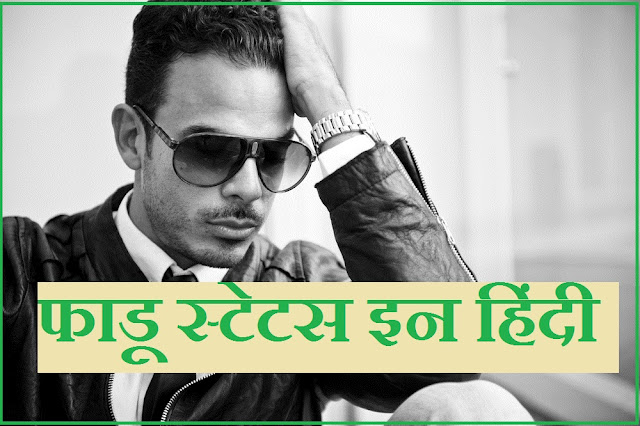 Fadu status in Hindi | फाडू स्टेटस इन हिंदी