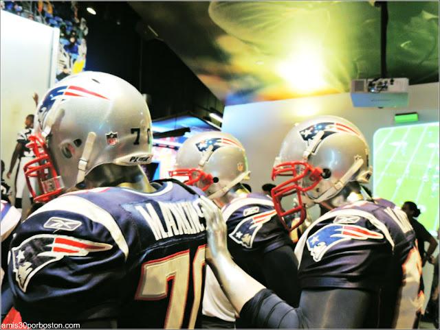 Jugadores de los Patriots
