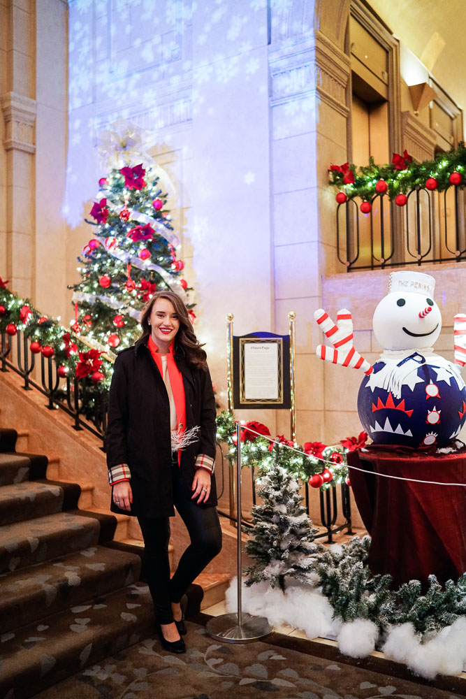 Krista Robertson, Covering the Bases, Travel Blog, NYC Blog, Preppy Blog, Style, Fashion Blog, Fashion, NYC Christmas, The Peninsula NYC, Christmas in the city, Holiday Style, Holiday decor