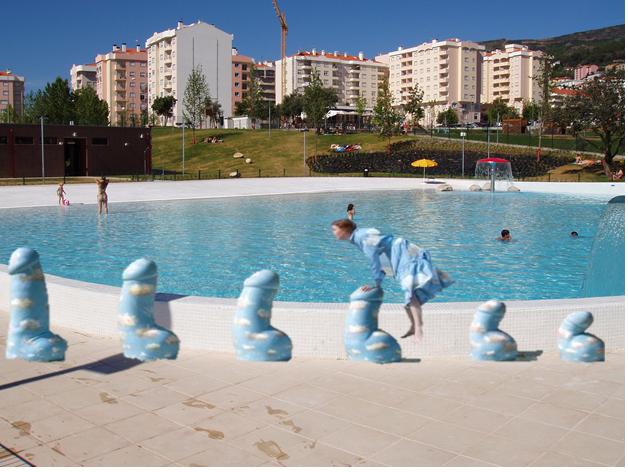 Resultado de imagem para carpinteira piscina