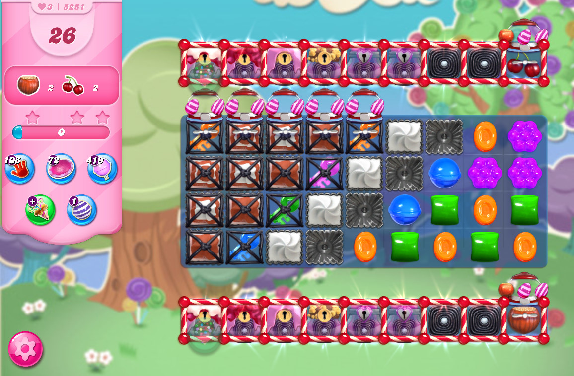 Candy Crush Saga level 5251