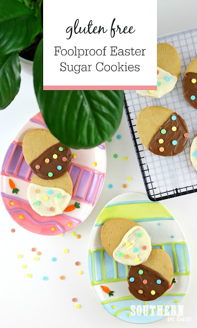 Easy Foolproof Gluten Free Sugar Cookies Recipe