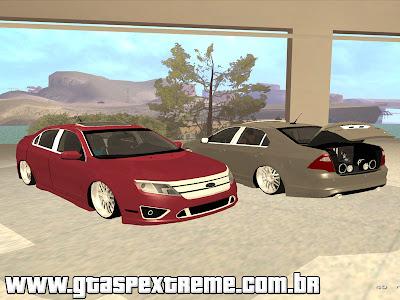 Ford Fusion Sport 2010 + Aro 20 para GTA San Andreas