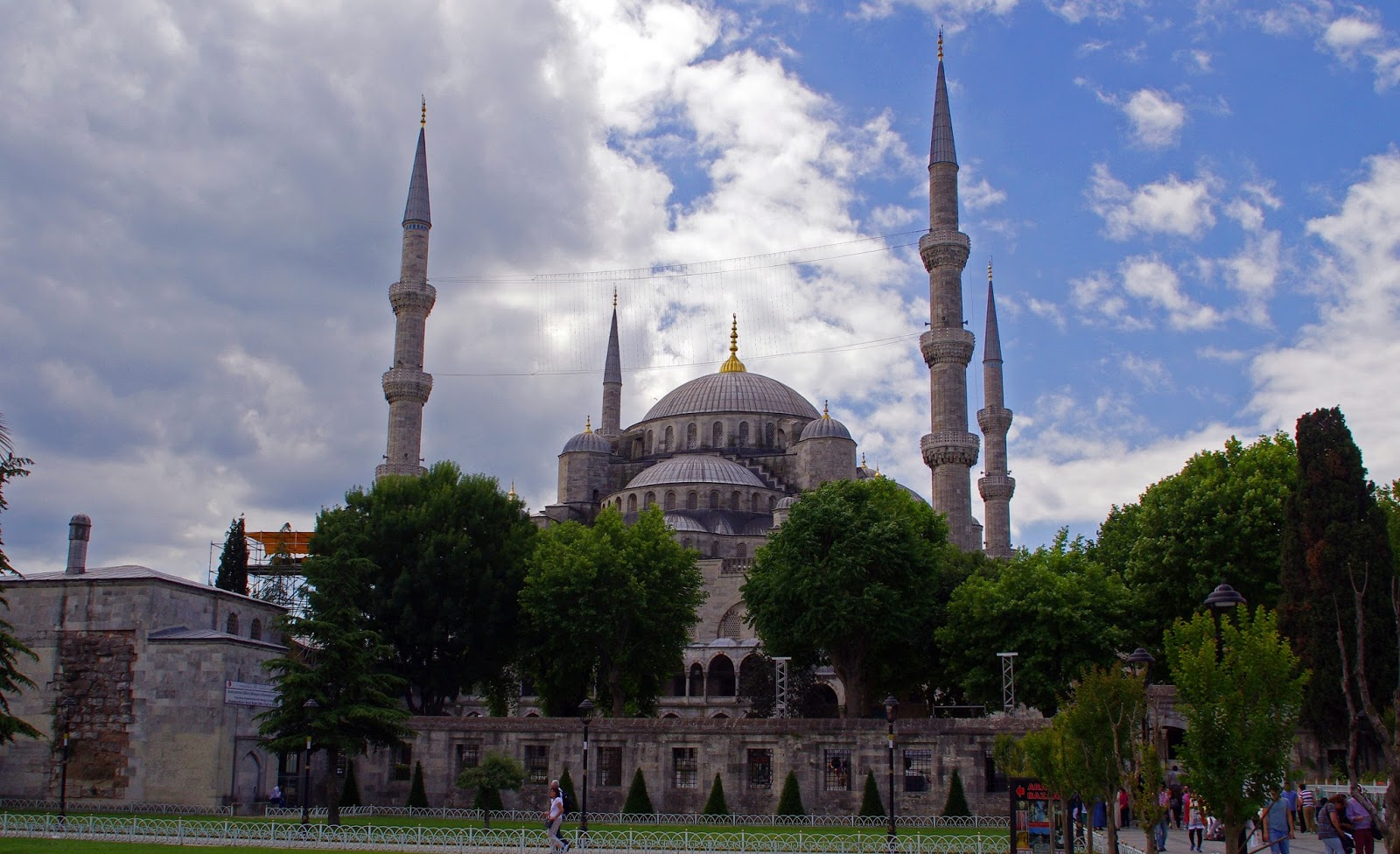 Blue Mosque Exterior Istanbul
