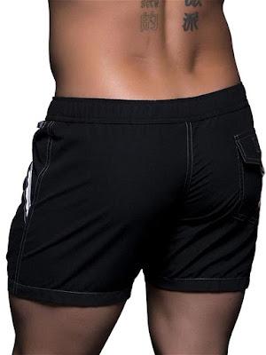 Black-Andrew-Christian-Atlantic-Swim-Shorts-Swimwear-Back-Detail-Cool4guys-Online-Store