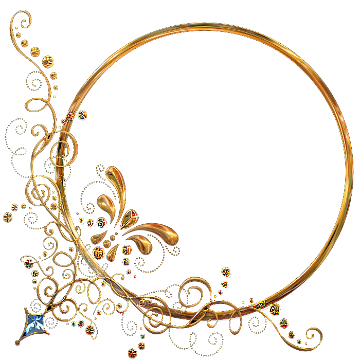 Gifs y fondos galilea marcos ovalados - Marcos de fotos dorados ...