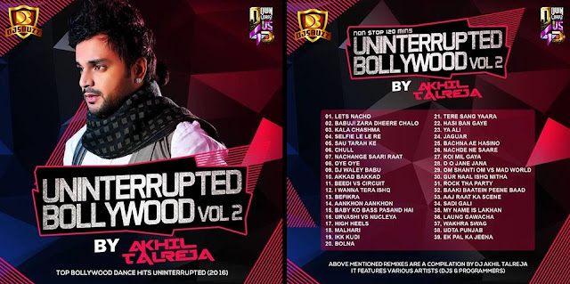 Uninterrupted Bollywood Vol.2 – DJ Akhil Talreja