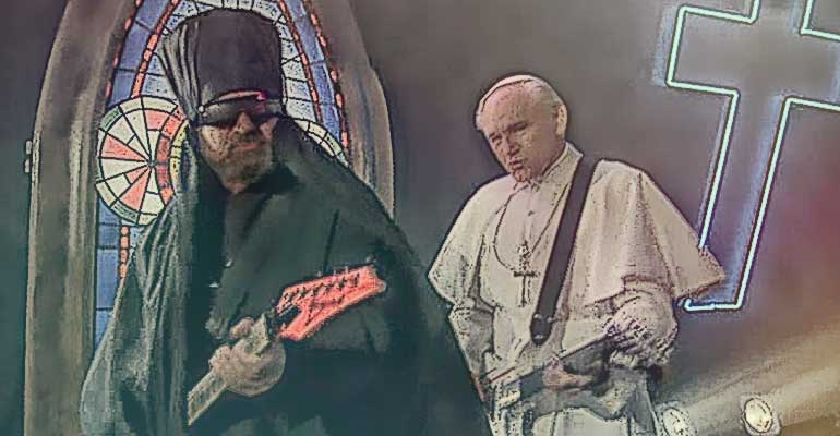 Jan Paweł 2 gitara