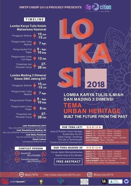 Lomba Mading 3 Dimensi LOKASI Undip 2018