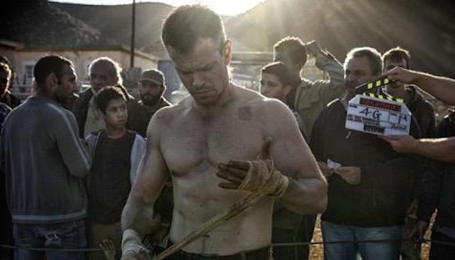 Primera foto de Matt Damon en el rodaje de 'Bourne 5'