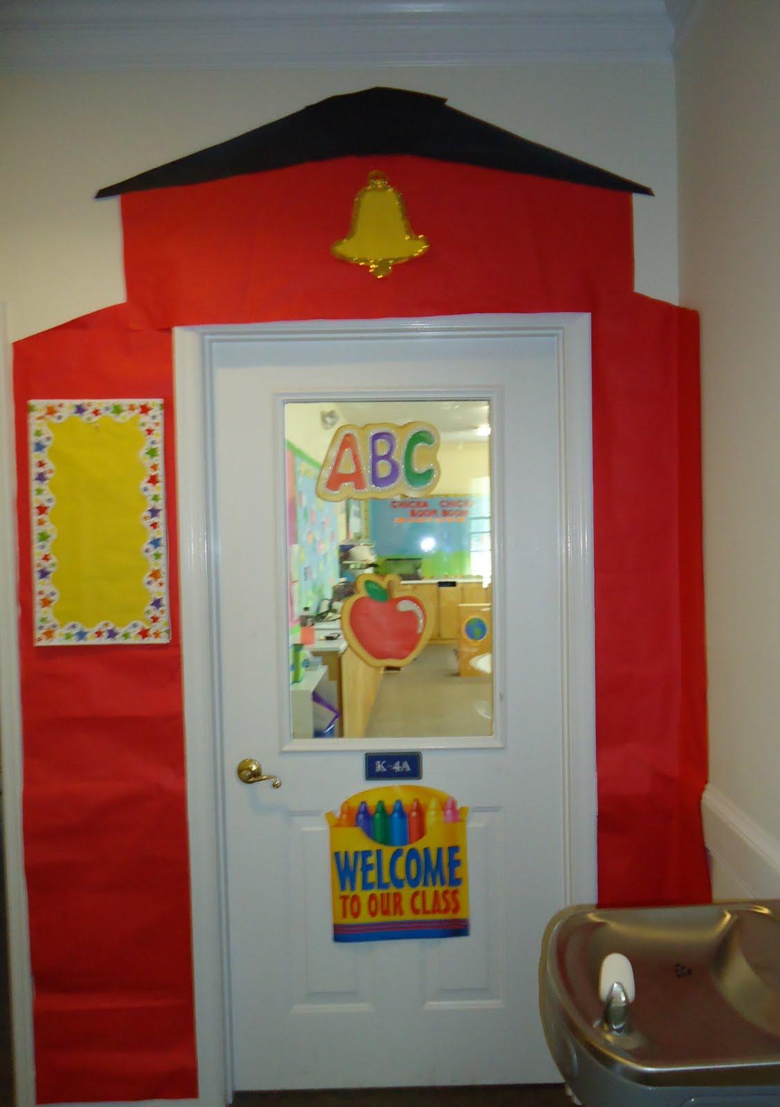 Classroom door decorationsTake the pen