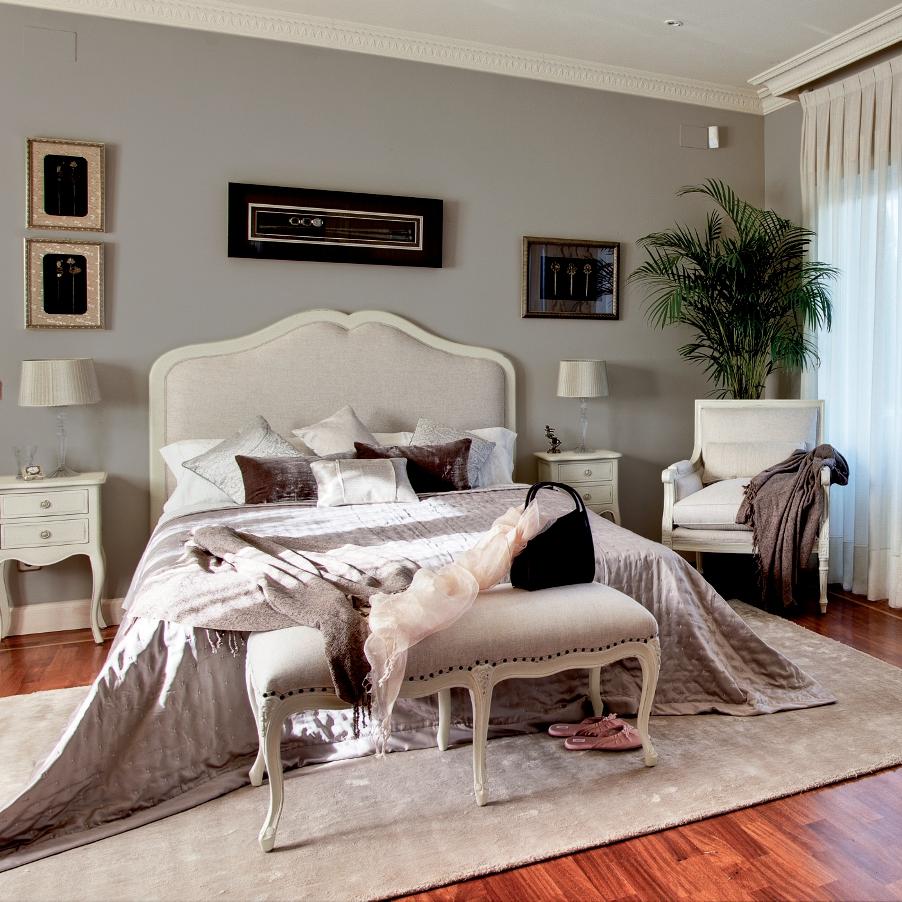 Muebles de dormitorio cabeceros para dormitorios romanticos - Muebles de estilo romantico ...