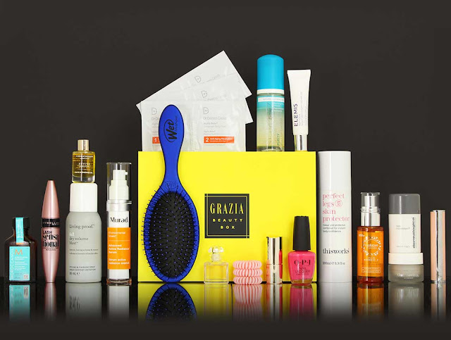 The First Grazia Beauty Box