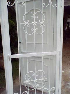 Ideas en hierro forjado puertas de hierros - Lamina de hierro ...