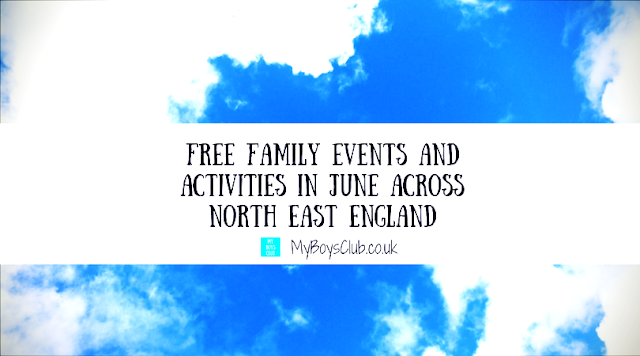 Free Family Events & Activities in North East England in June