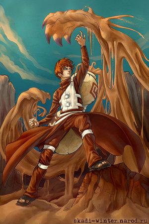 Manga - Artist: rock lee and gaara vs kimimaro