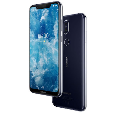 Nokia 8.1 with Snapdragon 710, 20MP front Camera Launched
