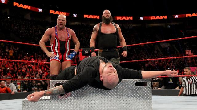 Kurt Angle, Brawn Strawman And Baron Corbin