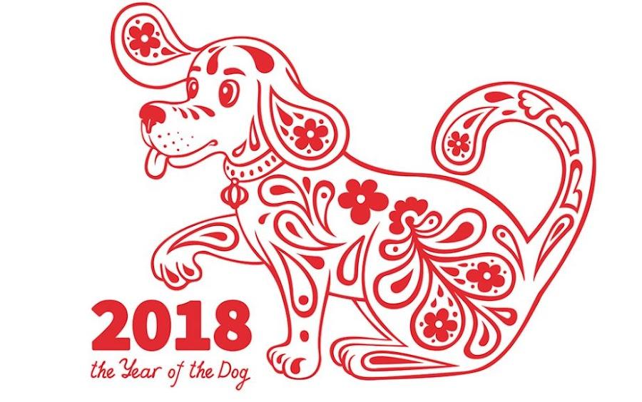 El perro simboliza la inteligencia y protección