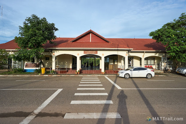 Thanaleng border train station in Laos