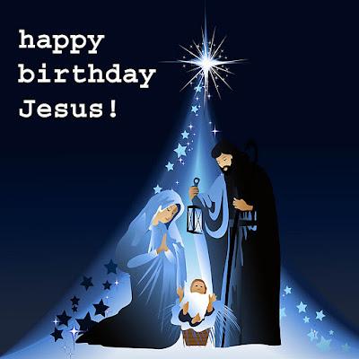 Merry Christmas Baby Jesus Photo