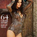 Nargis Fakhri   In Bikini for Filmfare Magazine July 2014 Photos