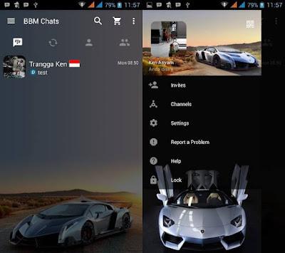 BBM Sport Car MOD V3.0.0.18 Update Terbaru By Trangga Ken
