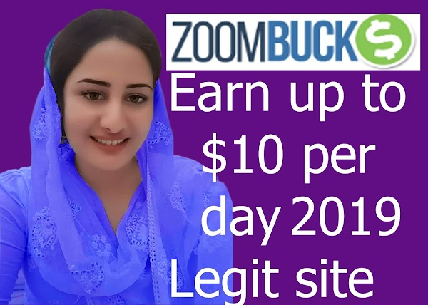 ZOOMBUCK IS LEGIT AND PAYING $10 PER DAY