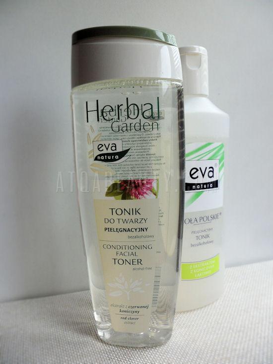 Eva Natura, Herbal Garden, Tonik do twarzy pielęgnacyjny bezalkoholowy