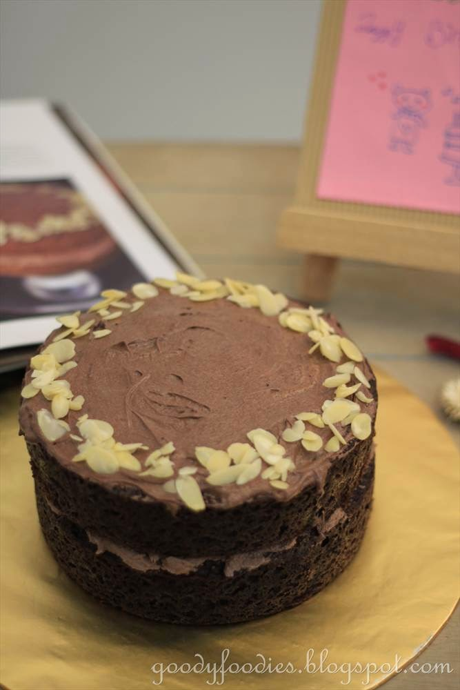 Goodyfoodies Recipe Best Chocolate Cake Marcus Wareing