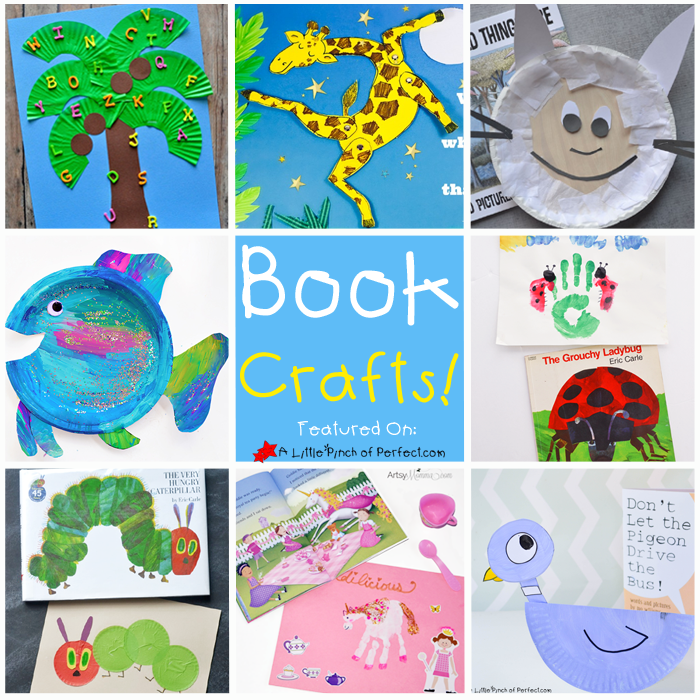 Hungry Caterpillar Superstar Awards 2015: 19 Adorable Crafts To Go With Your Kids Favorite Books