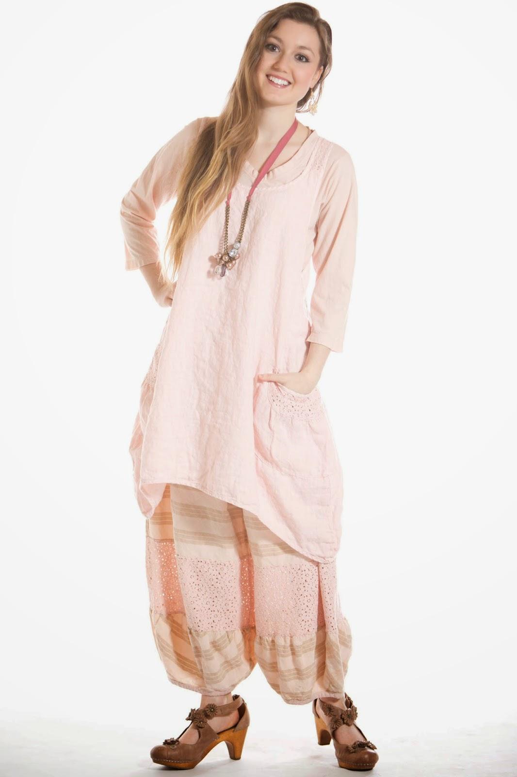 patrón de vestido estilo lagenlook