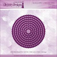 Divinity Designs LLC Custom Scalloped Circles Dies