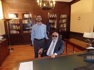 Με τον Υπουργό Εσωτερικών και Διοικητικής Μεταρρύθμισης κ. Παναγιώτη Κουρουμπλή