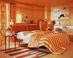 Habitaciones color naranja