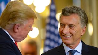 Macri inicia la campaña apoyado por Trump, presionado por la crisis y cuestionado por sus socios de Cambiemos