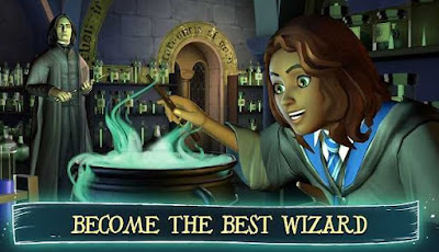 Screenshot Harry Potter Hogwarts Mystery Mod Apk