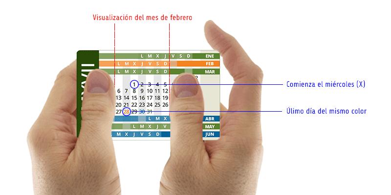 Instrucciones del Calendario Compacto