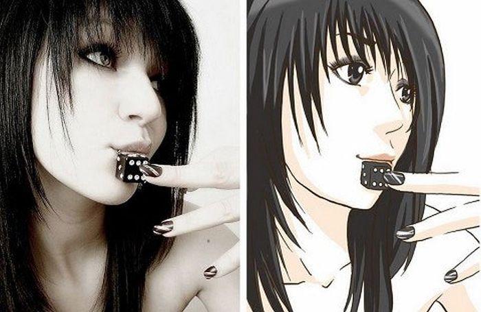 Anime Girls Vs Real Life Girls