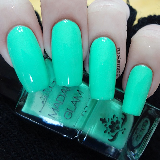 Madam Glam Aqualicious Swatch
