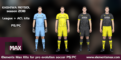 Kashiwa Reysol 2018 pes kits