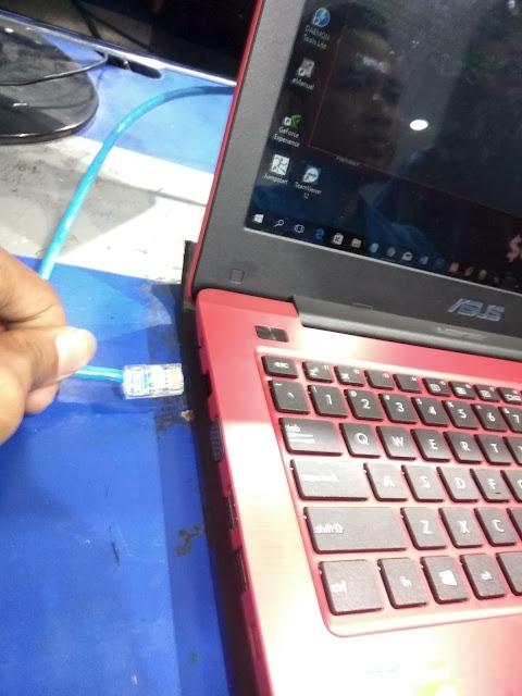 Cara Transfer File Dari PC Ke PC Menggunakan Kabel LAN