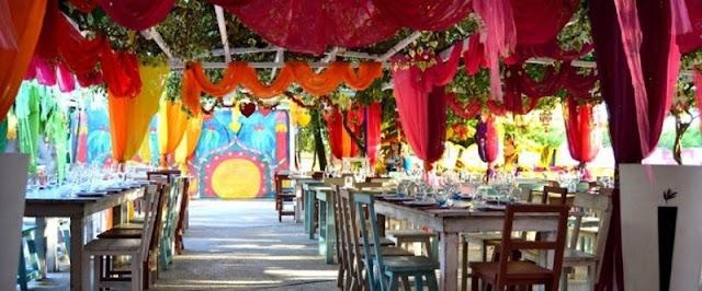 Restaurante Las Dalias em Ibiza