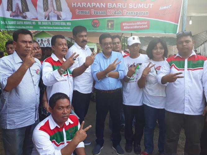 Djarot Apresiasi SSB Klumpang Putra, Janji Bangun Sport Centre