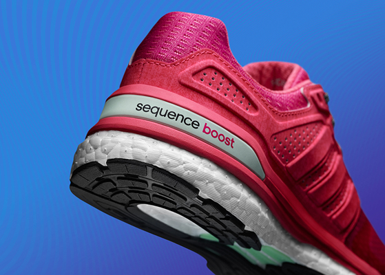 Adidas Sequence Boost  Ladies Running Shoes